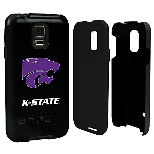 Kansas State Wildcats - Hybrid Case for Samsung Galaxy S5 - Black