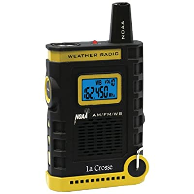 La Crosse Technology Super Sport NOAA Weather Radio by LaCrosse Technology