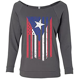 American Flag Raglan Shirt