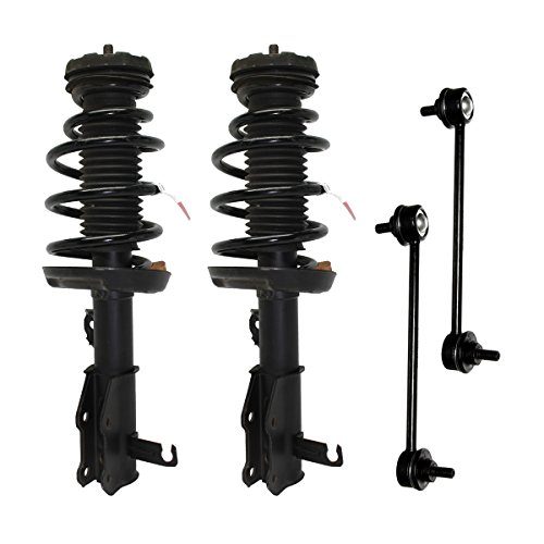 Products Center Link - Front - Both (2) Front Driver & Passenger Side Complete Strut & Spring Assembly with (2) Sway Bar End Links - 11.8 Inch Center to Center. - Front