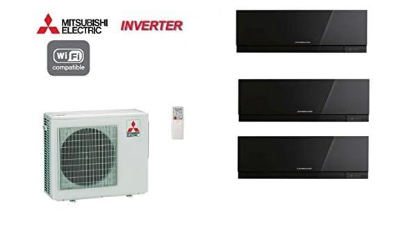 Mitsubishi Tri-split Mural Inverter Design MXZ-3D68VA + 2 MSZ-EF22VE2B + 1 MSZ-EF35VE2B: Amazon.es: Iluminación