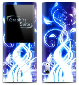 Electric Blue Skin for Apple iPod Nano 5th Generation (Ipod Nano 5th Blue)
