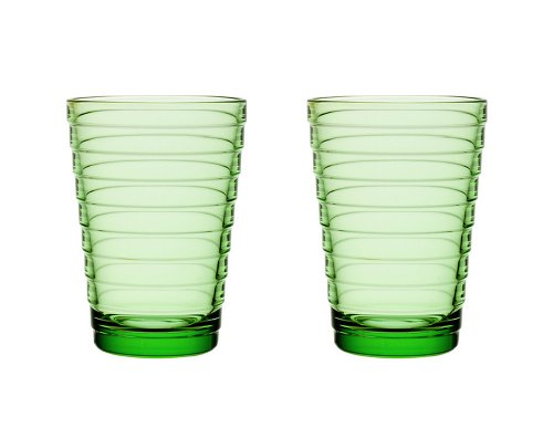 Bundle-60 Aino Aalto 11.75 Oz. Tumblers Apple Green (Set of 2)