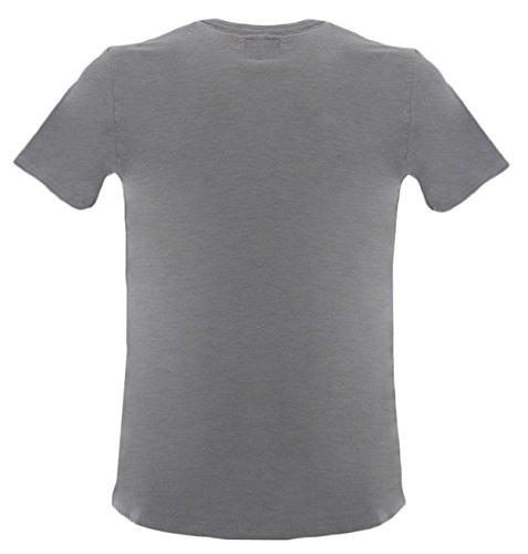 rich Uomo T Penn shirt Penn By Rich Woolrich Teegrigio Club zddw0q