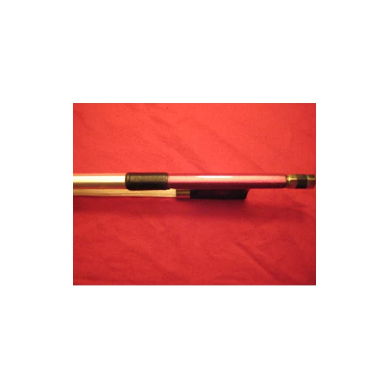 Vio Music Carbon Fiber 4/4 Violin Bow, Purple, Ebony Frog