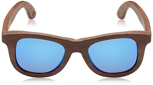 Azul De Multicolore Adult Nogal Waywood HÄRVIST Unisex Soleil Lunettes qzwg4