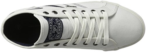 TOM TAILOR Herren 2786002 High-Top Weiß (white)