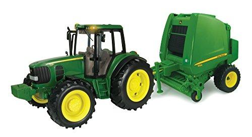 TOMY John Deere Big Farm Tractor & (Big Tractor)