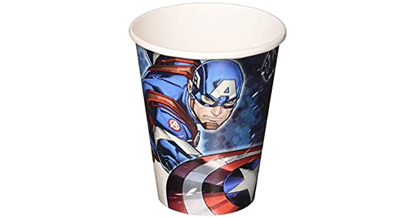 Amazon.com: 8 Marvel Epic Avengers Captain America Fiesta de ...