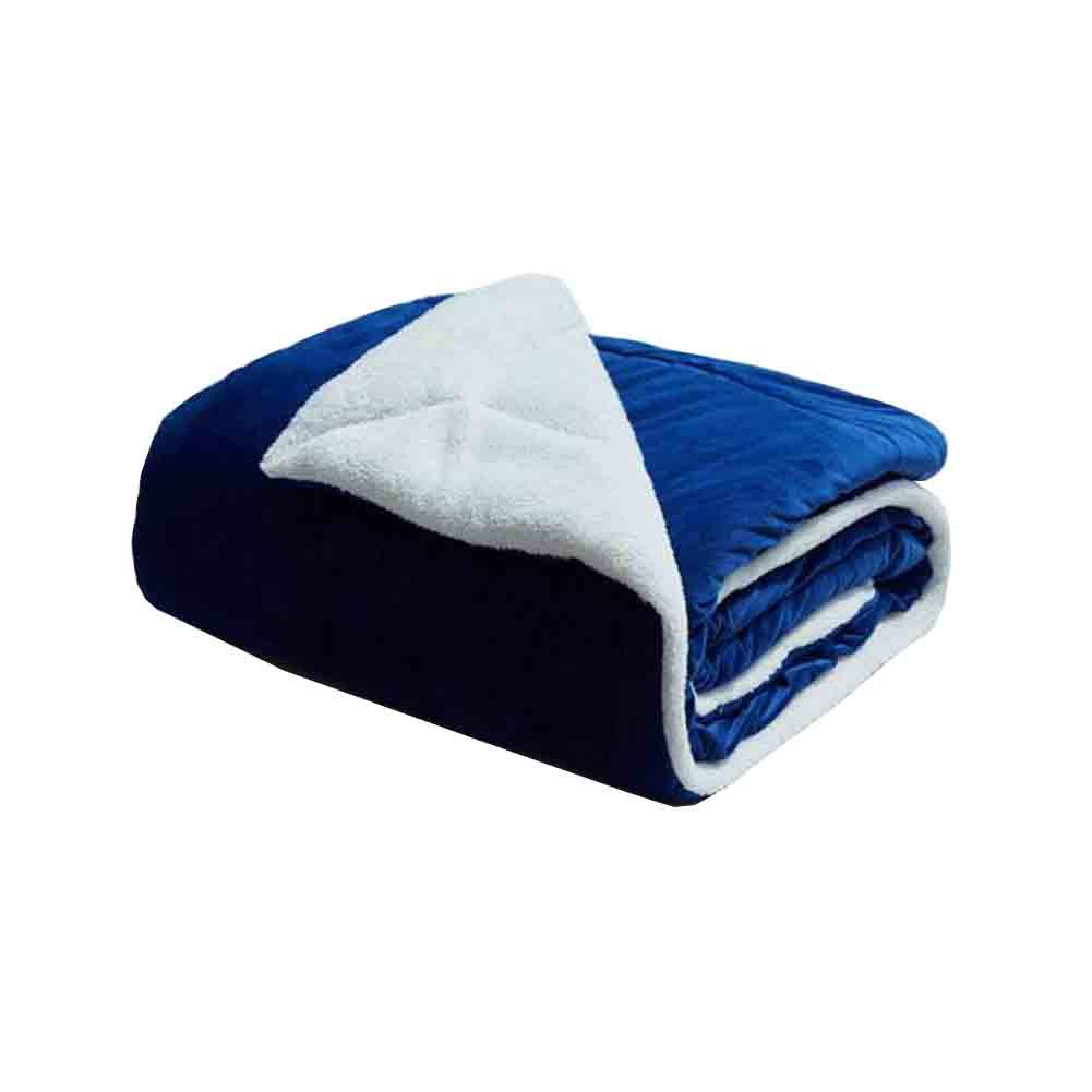 YCSD ベッドとソファーのための毛布ネイビーブルー暖かい可逆マイクロファイバーソリッドベッド毛布を投げる、ダブルサイズ(150 X 200センチメートル) (色 : Light pink) B07MT4WCTL Light pink