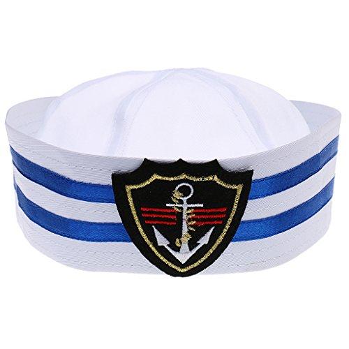 MagiDeal Unisex Captain Skipper Military