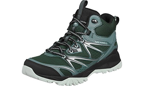 Merrell Mid Tex Waterproof Türkis Gore Womens Boots Walking Capra Bolt Ladies Grün YSqIrTUY