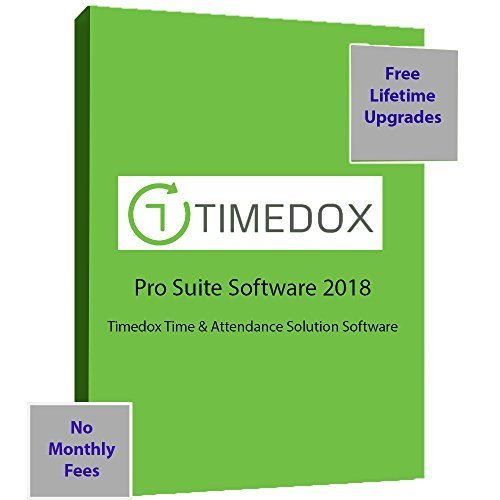 Timedox Silver Snow | Wi-Fi Biometric Fingerprint Time Clock | $0 Monthly fees | Wi-Fi Data Download | Requires Pro Suite Subscription ONE-TIME Payment | DYNAMIC Reports | OVER TIME notifications by Timedox (Image #3)