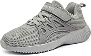 DREAM PAIRS Boys Girls Running Walking Shoes Lightweight Breathable Mesh Fashion Sneakers(Toddler/Little Kid/B