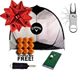 Callaway Tri-Ball Net Golf Gift Set w/ 18 FREE Practice Balls & PBS Pitchfix! (Home Range)