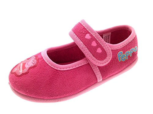 (Peppa Pig Girls Novelty Slippers)