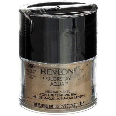 - Revlon Colorstay Aqua Light Medium/Medium Mineral Makeup - 2 per case.