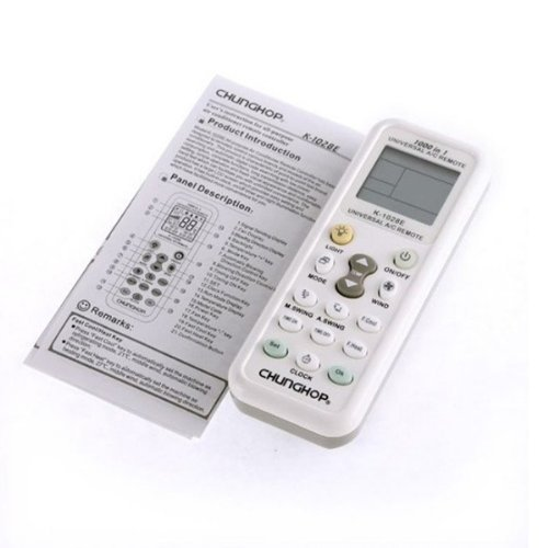 CHUNGHOP K-1028E Universal LCD A/C Remote Control for Air Condition.