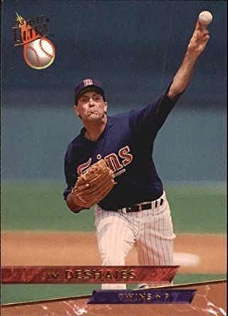 Amazoncom 1993 Ultra Baseball Card 580 Jim Deshaies Mint