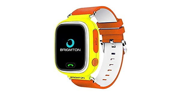 Brigmton BWATCH-Kids SmartWatch GPS, Naranja: Amazon.es ...