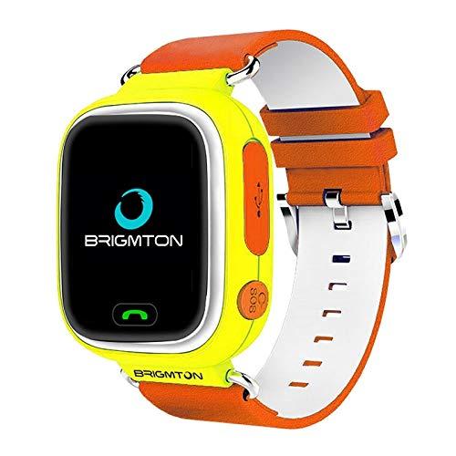 Brigmton BWATCH-Kids SmartWatch GPS, Naranja: Amazon.es: Electrónica