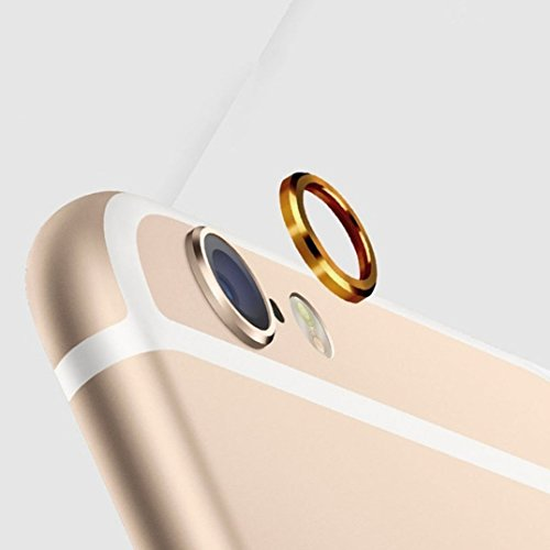 Camera Lens Cover For Apple Iphone 6 Gold Amazon In Electronics