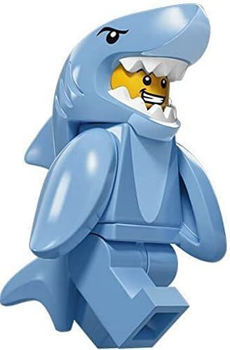 LEGO Shark Suit Guy #13 of 16, Minifigures Series 15 Set 71011SEALED Retail Packaging