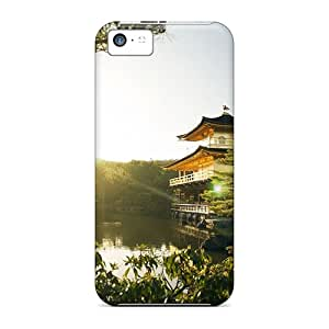 For Iphone Case, High Quality Golden Pavilion Kyoto For Iphone 5c Cover Cases