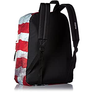 JanSport Mens Classic Mainstream High Stakes Backpack - Multi Grunge USA / 16.7H X 13W X 8.5D