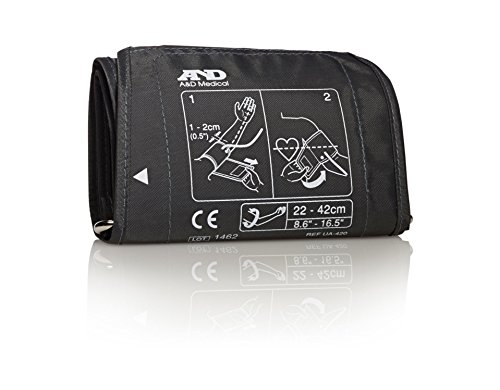 A&d Medical Wide-Range Cuff for Blood Pressure Monitors, Wid