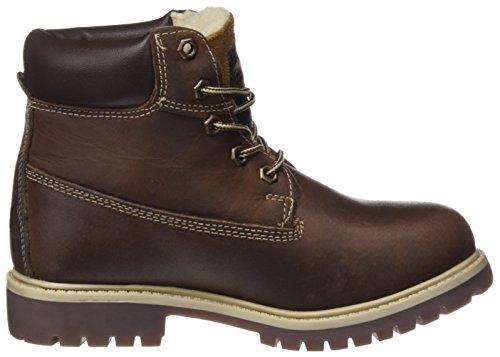Dockers by Gerli Unisex-Kinder 35fn701-400 Combat Boots Braun (Cognac)