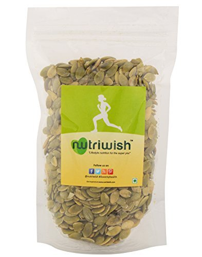 Nutriwish Raw Pumpkin Seeds 200 gm (Without Shell)