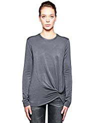 Stateside Womens Viscose Fleece Twist