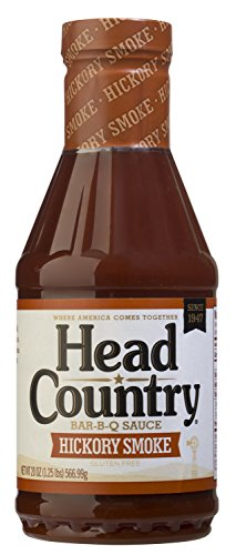 Hickory Barbeque Sauce (Head Country Bar-B-Q Sauce Hickory Smoke Flavor 20 oz (Pack of 12))