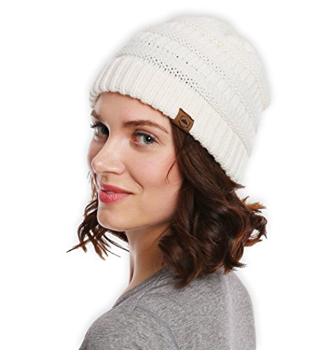 Chunky Cable Beanie Tough Headwear