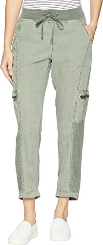(XCVI Women's Alani Pants Deep Sage Medium 27)
