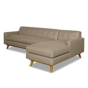 Amazon.com: Clinton Ave 2-Piece Sectional, Sand, RAF ...