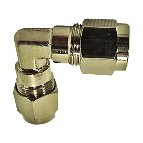Elbow 0.375 Compression - Misting Fittings (3/8 Inch Compression Elbow-Pack of 5)