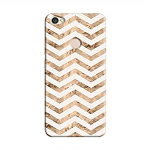 cover it up - Brown White Tri Stripes Redmi Note 5A Hard case