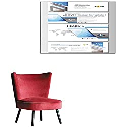 """homehot Corridor/Indoor/Living Room Modern Social Media Banners email headers Business templates Cover Design Mural 24""""x16"""""""