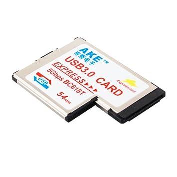 AKE EXPRESSCARD 54 USB 3.0 WINDOWS 7 DRIVER DOWNLOAD