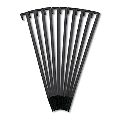 EasyFlex Dimex Nylon Landscape Edging Anchoring Stakes, 10 Count, 10-Inch Length (1940-10)
