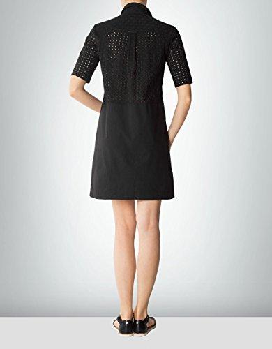 Schwarz Damen 42 Farbe Baum GANT Kleid Dress Unifarben Größe Wolle xnpvSpz1
