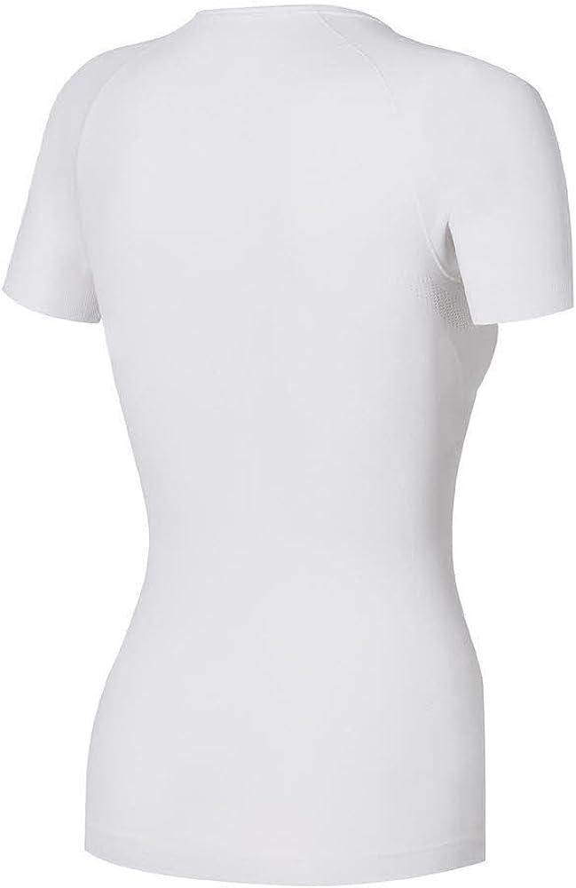 Misura XL Colore: Nero /Maglietta di Campeggio e Trekking per Donna Odlo/