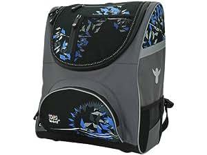 Friedrich 50043-2 Toi Flow Alaska - Set de mochila escolar de 4 piezas color azul/gris