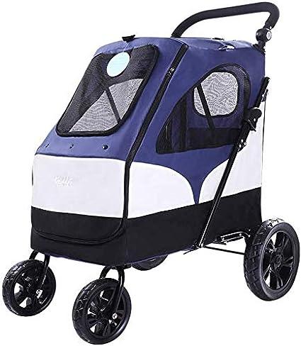 Awj Kinderwagen Katzenwagen Kinderwagen Extra Großer Kinderwagen Faltbarer Kinderwagen Buggy Mit Aufbewahrungstasche 4 Räder Amazon De Sport Freizeit