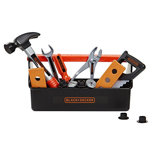 BLACK+DECKER Jr. My First Tool Box - 15 Piece Set, [Amazon Exclusive] by BLACK+DECKER