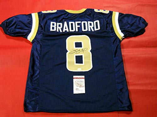 (Sam Bradford Autographed Signed St. Louis Rams Jersey JSA - Certified Authentic)