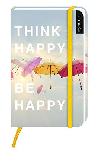 mynotes-think-happy-be-happy-notizbuch-klein-liniert