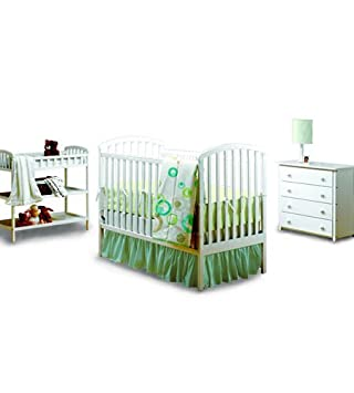 Beau Bily All In One Nursery In Cotton White